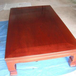 大きな座卓