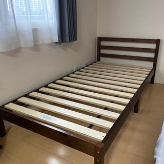 商談成立 ニトリ シングルベッドフレーム