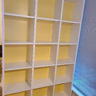 【無料!】本棚と転倒防止用突っ張り棚