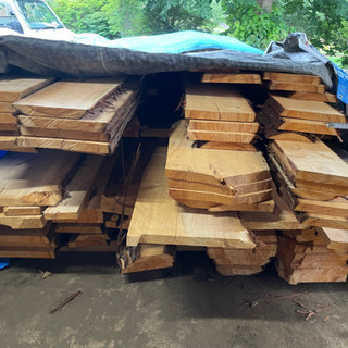 【ネット決済】ひのき 2021年1月伐採 材木 木材