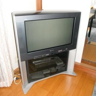 【差し上げます】SONYデジタルブラウン管テレビ32形
