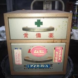 古い薬箱?
