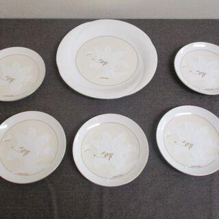 ハナエモリ 皿 6枚 セット  DINNERWARE  KA00412