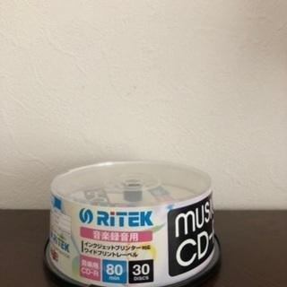 音楽用RITEK music CD-R  80min