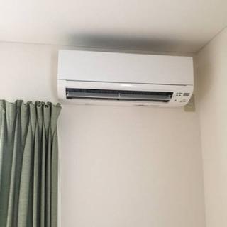 エアコン取付けします。