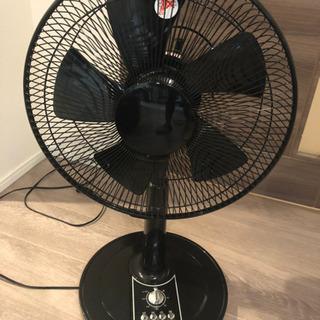 扇風機(黒)1000円
