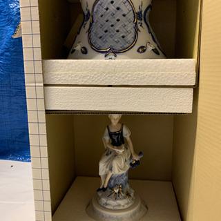 9月末まで、この値段。陶器のランプ(新品未使用)