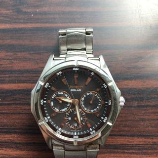 腕時計 ソーラー式