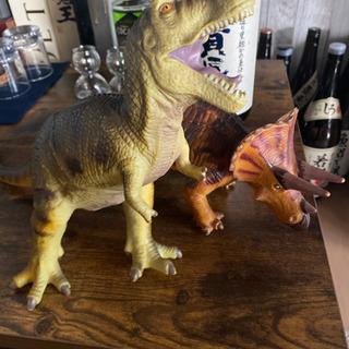 【ネット決済】恐竜 おもちゃ 2体