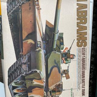 アメリカM-1エイブラムス戦車プラモデル