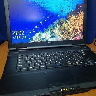 【ネット決済・配送可】NEC windows10 ノートパソコン...