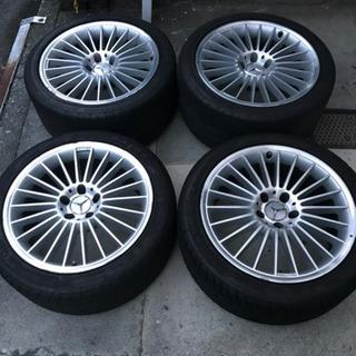メルセデス・ベンツ CLS 純正 18インチ タイヤ付き 4本セット