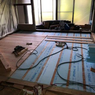 和室畳間から板張りやフローリング貼り替えできます。