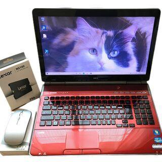 【ネット決済・配送可】美品!2世代Corei7 新品SSD256...