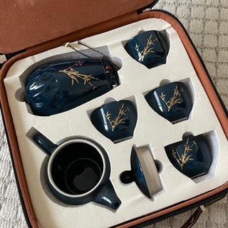 旅行用 高級な茶道具、セットの茶道具、贈り物