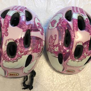 子供ヘルメット2つ