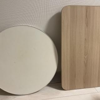 テーブル2つ