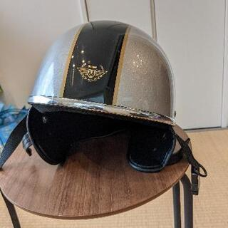 バイク(原チャ)のヘルメットです。