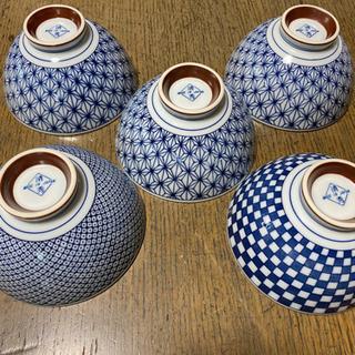 お茶碗5個セット 日本製