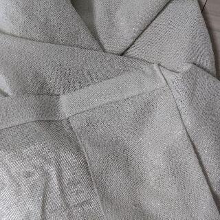 ミラーレースカーテン  - 生活雑貨
