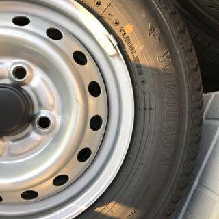 新車外しスズキキャリィトラック・エブリィバン用12インチ夏タイヤホイールセット1台分 - 売ります・あげます