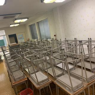 【ネット決済】完売しました!元西村学修舎の学習机と椅子セット 想...