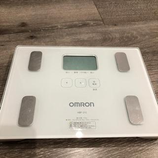 【値下げしました】OMRON体重体組成計 オムロン体重計