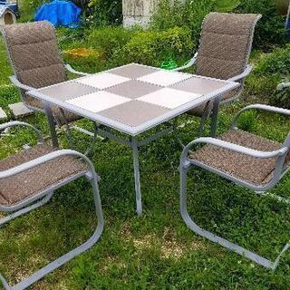 海外製ガーデンテーブルセット