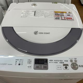 SHARP 全自動洗濯機 5.5kg【店頭取引限定】【中古品】早...