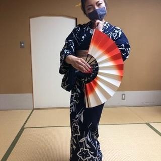 夏浴衣!1day やさしく楽しい日本舞踊講座
