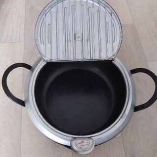 鍋 揚げ物用 24cm 温度計付き