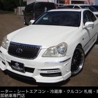 自社ローン🇯🇵札幌/東区 クラウンマジェスタ 4WD エア…