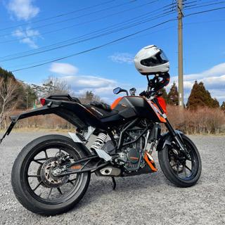 値下げしました! バイク KTM200duke