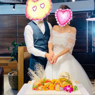 【ネット決済】良品⭐︎Aライン 2WAYウエディング ドレス(ホ...