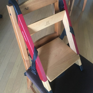 折り畳み式 キッズチェア ベビーチェアー