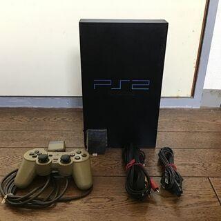 PS2とゲームソフト2本メモリーカード1枚まとめて売ります