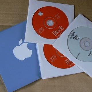 前期シェル型 iBook  リストアCD