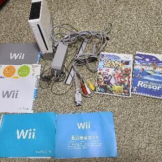 Wii本体&Wiiスポーツリゾートソフト&スマブラX