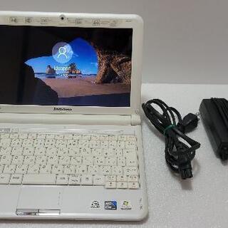 Lenovo小型ノートPC Windows10!SSD&HDD搭...