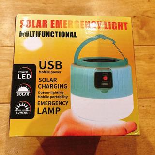 新品半額❗️ソーラーランタン LEDランタン ソーラー充電