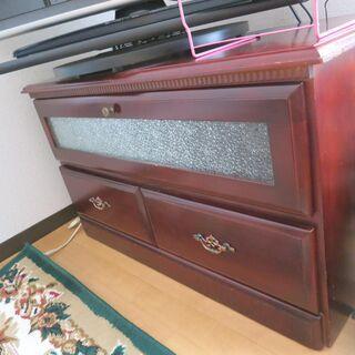 昔ながらのテレビ台 棚  縦80㎝×横40㎝×高さ45㎝