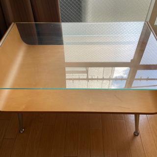 【ネット決済】テーブル ガラス天板