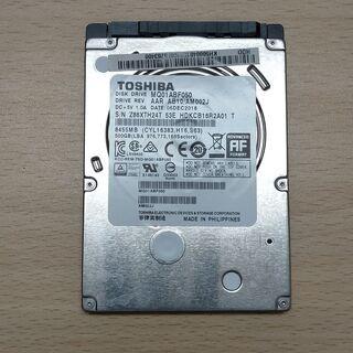 【ネット決済・配送可】**Toshiba MQ01ABF050 ...