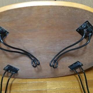 可愛い足折れローテーブル − 大阪府