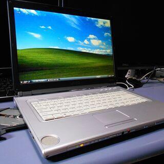ノートパソコン SONY VAIO Windows XP SSD...