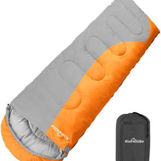 新品★ 寝袋 シュラフ 封筒型 軽量 保温 210T防水 コンパクト