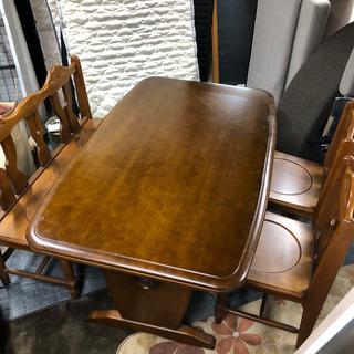 木製ダイニングテーブル 椅子 ベンチ セット