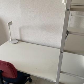 【無料】勉強机&椅子(7/22引き渡し)