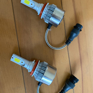 LEDヘッドライト2個セット 新品未使用 H11