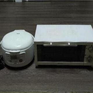 動作確認済み 炊飯器 オーブントースター セットTIGER 新生...